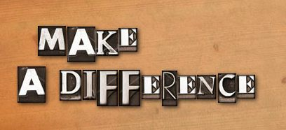Make a differenc